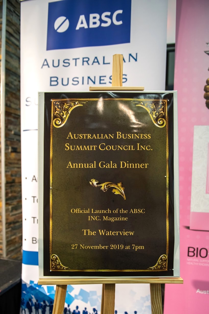 ABSC Inc. Banner & Poster for the Event